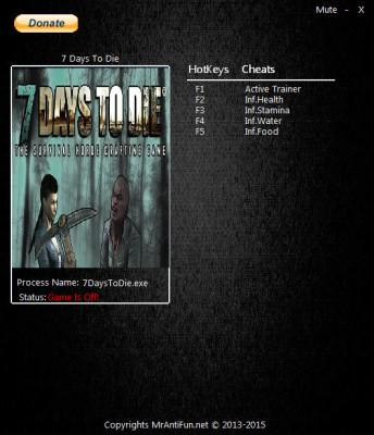 7 Days To Die cheats