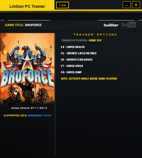 Download Cheats For BroForce