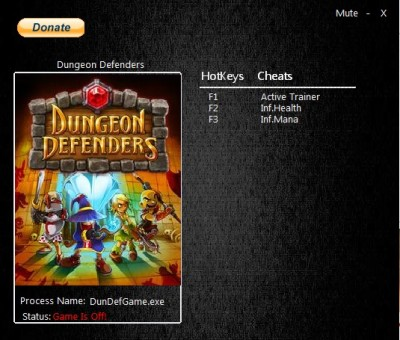 Dungeon Defenders cheats