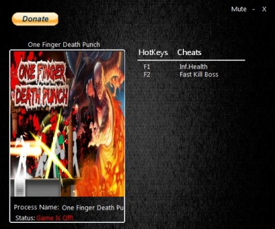 One Finger Death Punch cheats