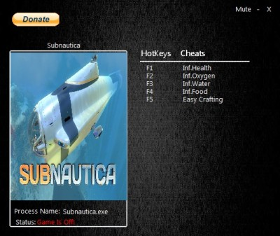 Subnautica cheats