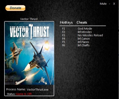Vector Thrust cheats