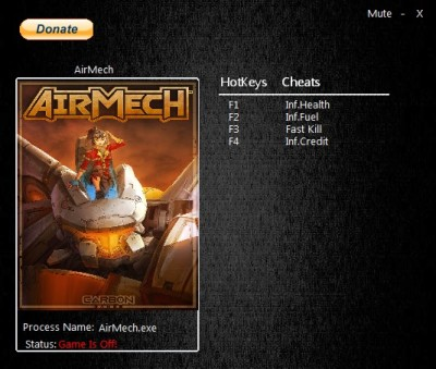 AirMech cheats