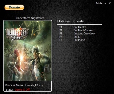 Bladestorm Nightmare cheats