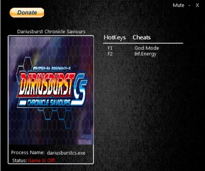 Dariusburst Chronicle Saviours cheats