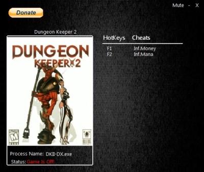 Dungeon Keeper 2 cheats