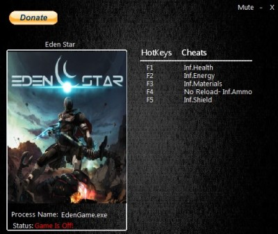 Eden Star cheats