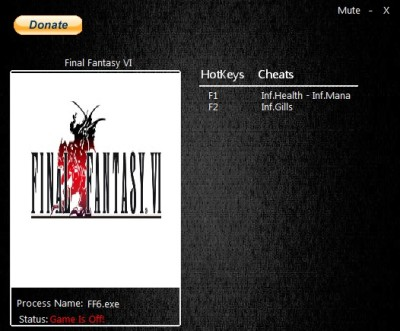 Final Fantasy 6 PC cheats