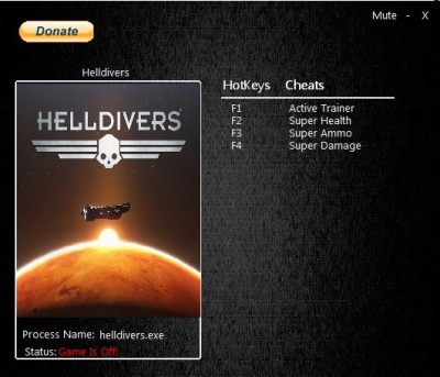 Helldivers cheats