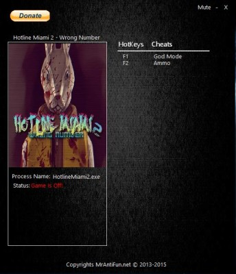 Hotline Miami 2 Wrong Number cheats