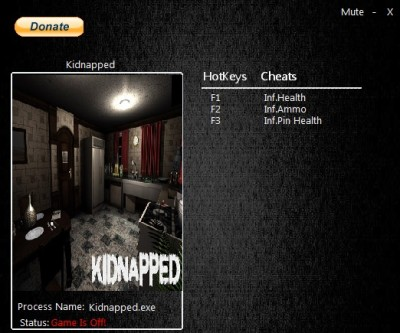Kidnapped cheats
