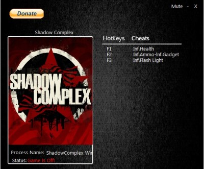 Shadow Complex Remastered cheats