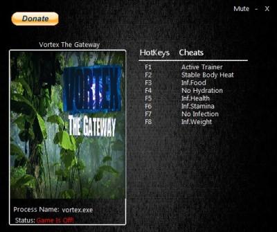 Vortex The Gateway cheats