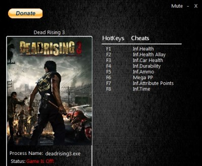 Dead Rising 3 Apocalypse Edition cheats