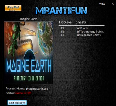 Imagine Earth cheats
