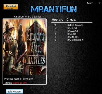 Kingdom Wars 2 Battles cheats