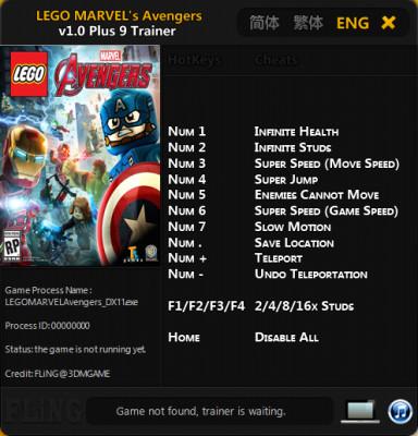 Lego Marvel Avengers Cheats
