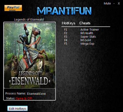 Legends of Eisenwald cheats