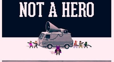 Not a Hero cheats