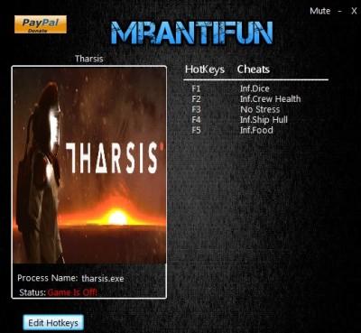 Tharsis cheats