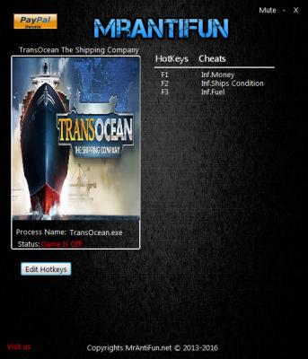 TransOcean The Shipping Company cheats