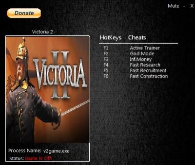 Victoria 2 cheats
