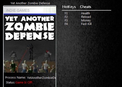 Yet Another Zombie Defense  cheats