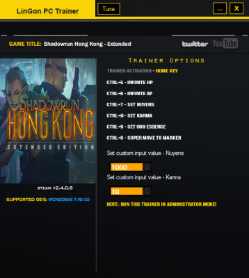 Shadowrun Hong Kong - Extended Edition cheats