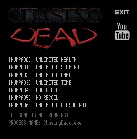 Chasing Dead cheats