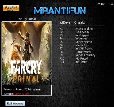 Far Cry Primal cheats