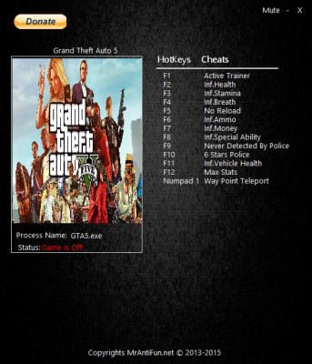Grand Theft Auto 5 Online cheats