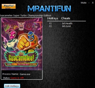 Guacamelee Super Turbo Championship Edition cheats