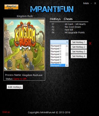 Kingdom Rush cheats