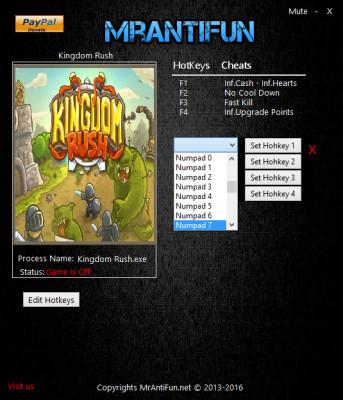 Kingdom Rush cheats