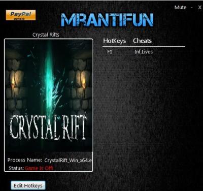 Crystal Rift cheats