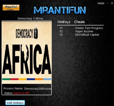 Democracy 3 Africa cheats