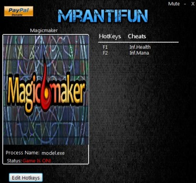 Magicmaker cheats