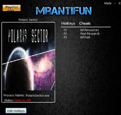 Polaris Sector cheats