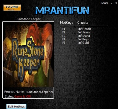 RuneStone Keeper cheats