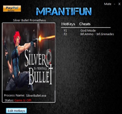 Silver Bullet Prometheus cheats