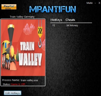 Train Valley - Germany cheats