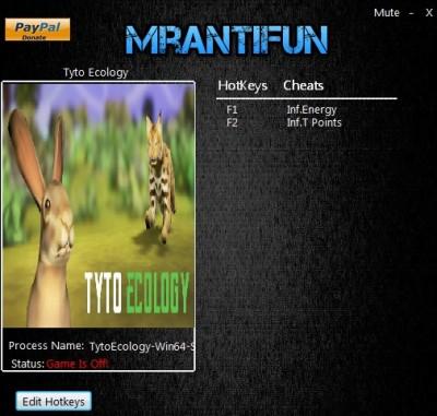 Tyto Ecology cheats