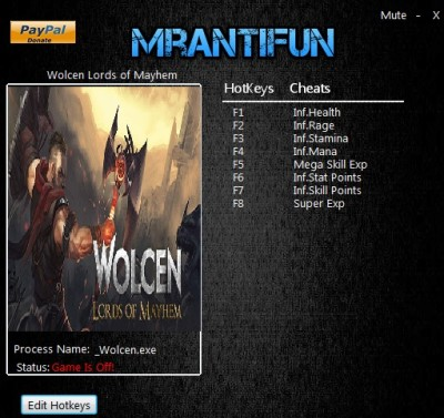 Wolcen Lords of Mayhem cheats