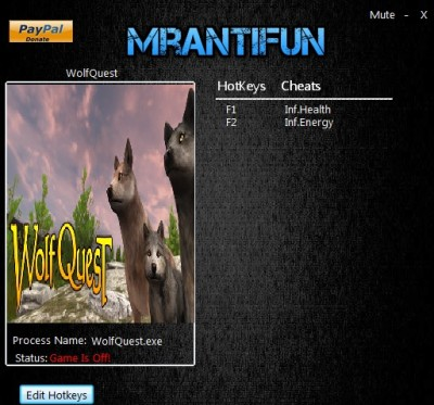 WolfQuest cheats
