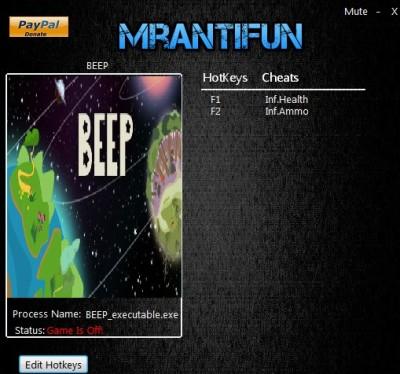 BEEP cheats