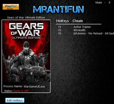 Gears of War Ultimate Edition cheats