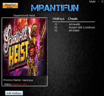 SteamWorld Heist cheats