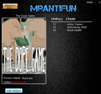 The Dope Game cheats