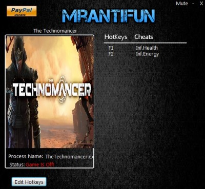 The Technomancer -cheats