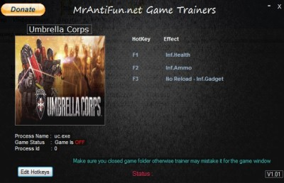 Umbrella Corps cheats